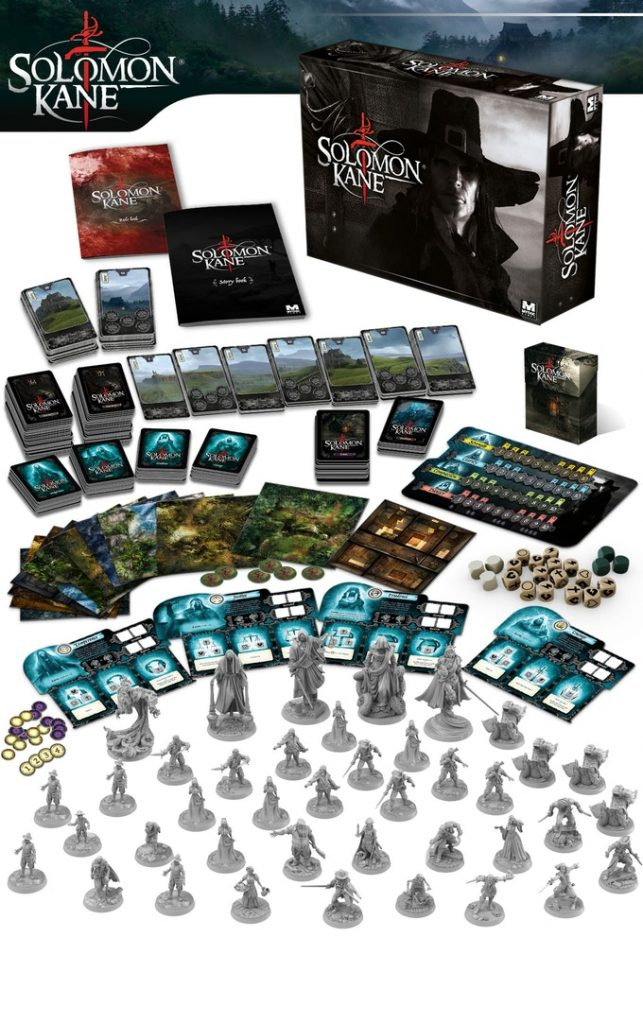 Solomon Kane Main Box - Mythic Games