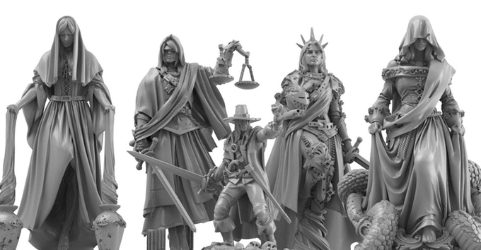 Solomon Kane Miniature Renders