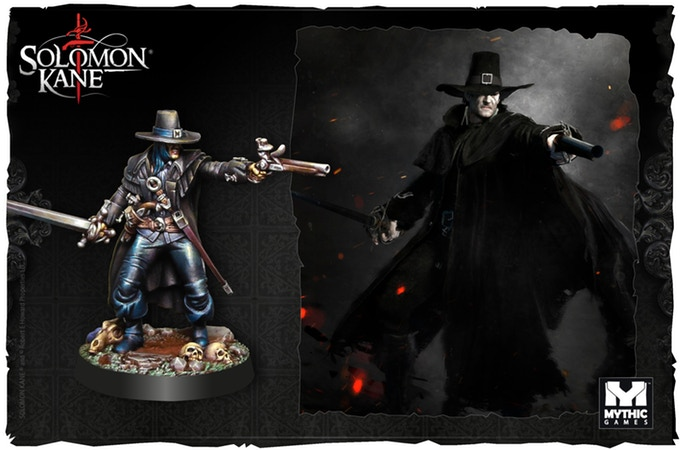 Solomon Kane Single Figure