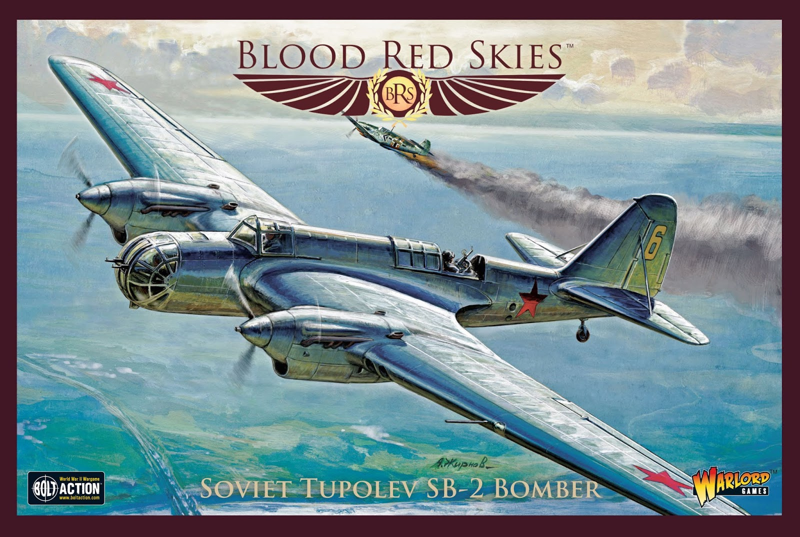 Soviet Tupolev SB2 Bomber - Blood Red Skies