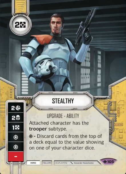 Stealthy - Star Wars Destiny