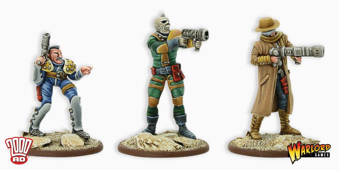 Strontium Dog Model Preview - Warlord Games