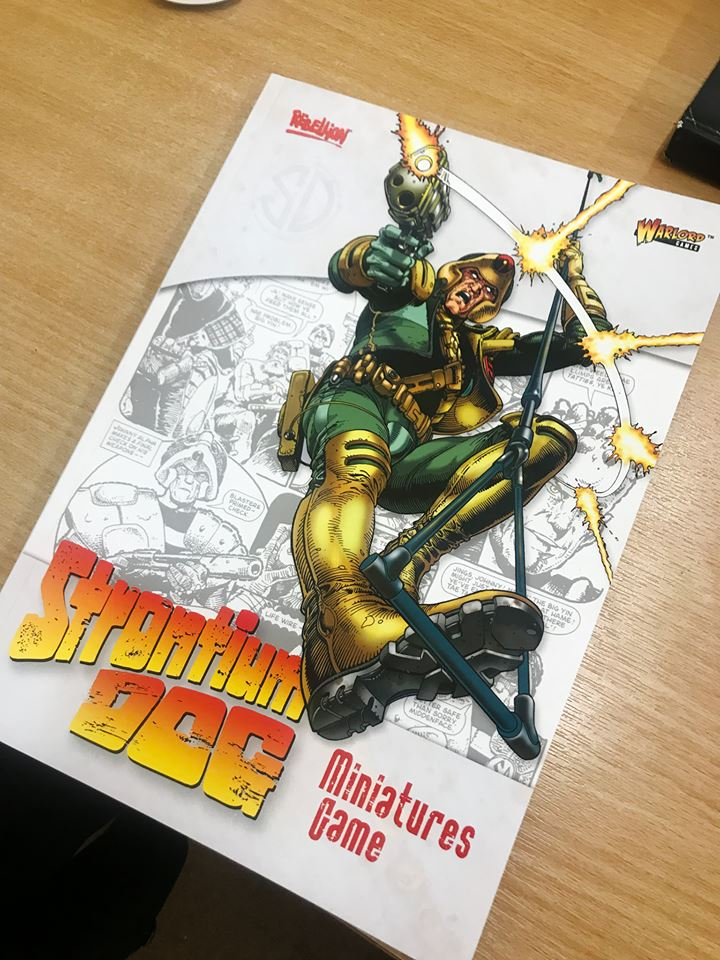 Strontium Dog Rulebook - Warlord Games