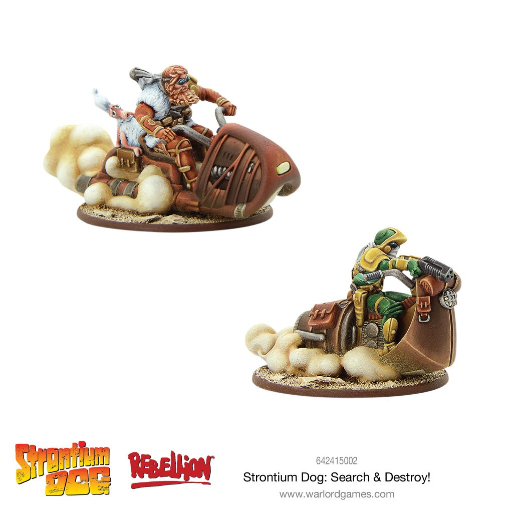 Strontium Dog Search & Destroy - Warlord Games