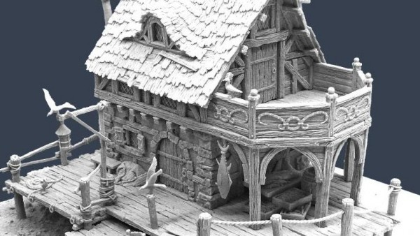 Tabletop World Brings The Fisherman House To Their Range