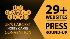 UK Games Expo Press Round-Up