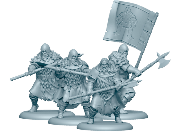 Umber Greataxes (Models) - A Song Of Ice & Fire TMG