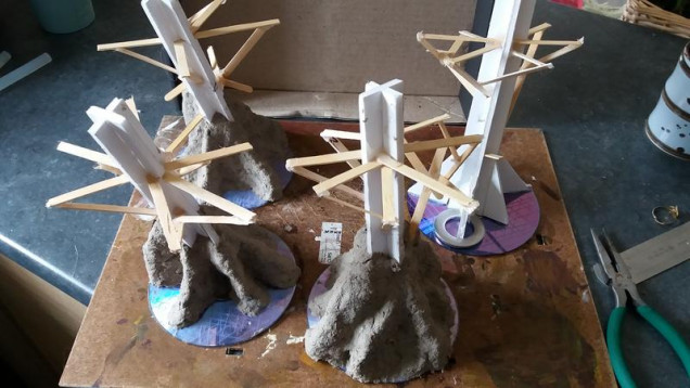 4 more armatures started