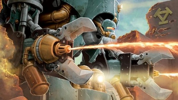 Privateer Press Bringing Crucible Guard Vulcans To Lock & Load!