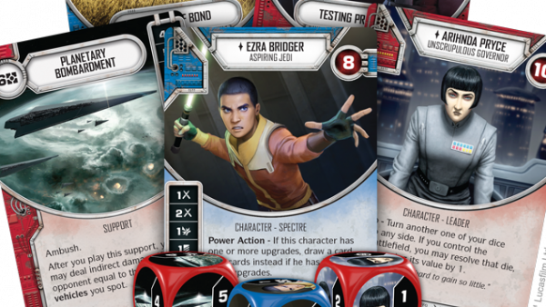 Get A Look At Rebels Of Different Sorts For Star Wars: Destiny!