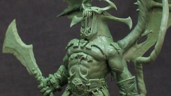 The Gargoyle Of Litchmyre Dungeon Roars Defiant For Zealot Miniatures