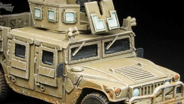 Spectre Miniatures Set Up New Modern Warfare HMVs