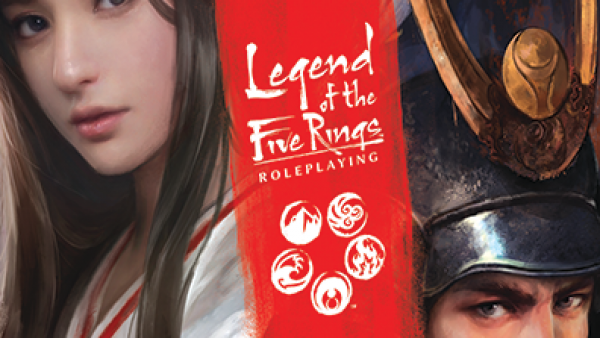 FFG Present The Glorious Legend Of The Five Rings RPG Core Book