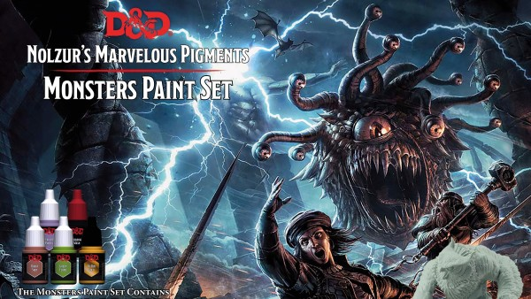 Pre-Order Now Open For Army Painter's D&D Paint Sets & Brushes
