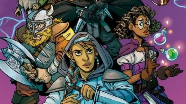 Lion Forge's Rolled & Told Mixes Comic Book & Tabletop RPG