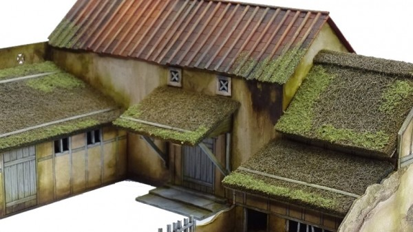 Sarissa Build Up A Dark Age Farmstead From Roman Villa