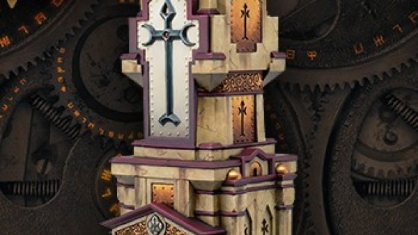 New Privateer Press Black Anchor Piece, The Shrine Of The Lawgiver Now Available