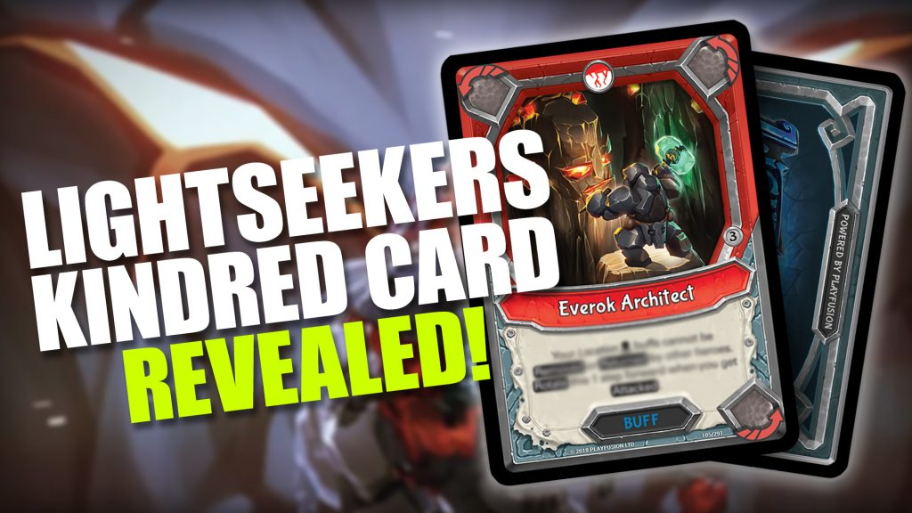 Lightseekers Kindred Card Reveal - Everok Architect