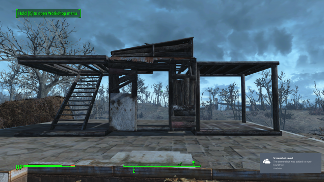 This is a screenshot of a few objects you can build in Fallout 4 as you can see these are just components that share dimensions and lock together.