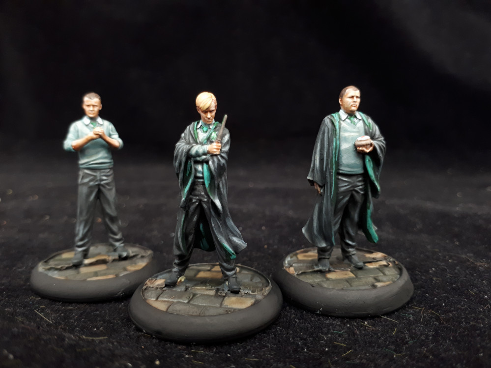 Harry Potter Miniatures Game painting guides