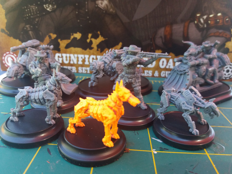 Outlaws, Gun and Attack Dogs built.