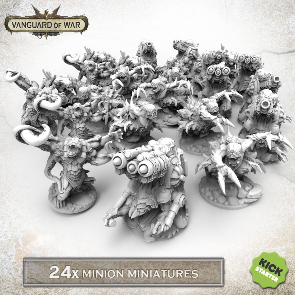 24 Minion Miniatures - Vanguard Of War