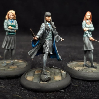 Painting the Hogwarts uniform