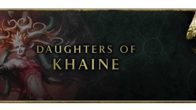 AOS and Warcry Daughters of Khaine