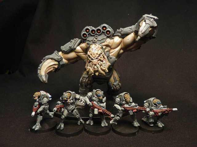 Khurasan Test The Waters For New 28mm Sci-Fi Mutants
