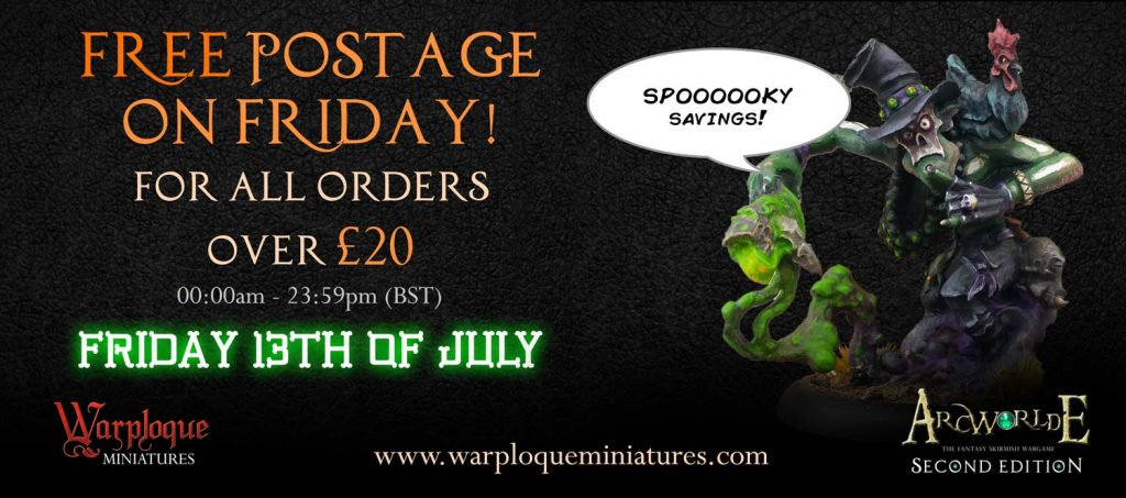 ArcWorlde Deal - Warploque Miniatures
