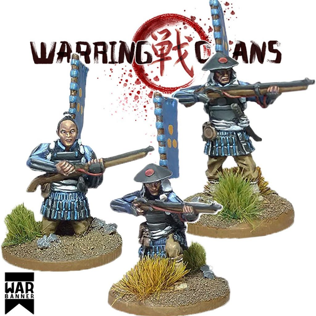 Ashigaru with Teppo - War Banner