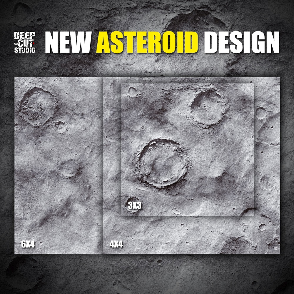Asteroid Mat - Deep Cut Studio