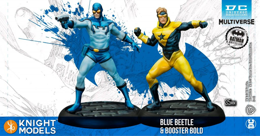 Blue Beetle & Booster Bold - Knight Models