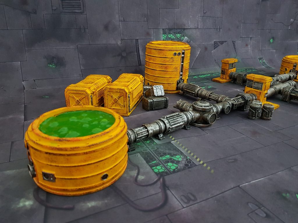 Chem Zone Terrain Set #2 - GameMat.Eu