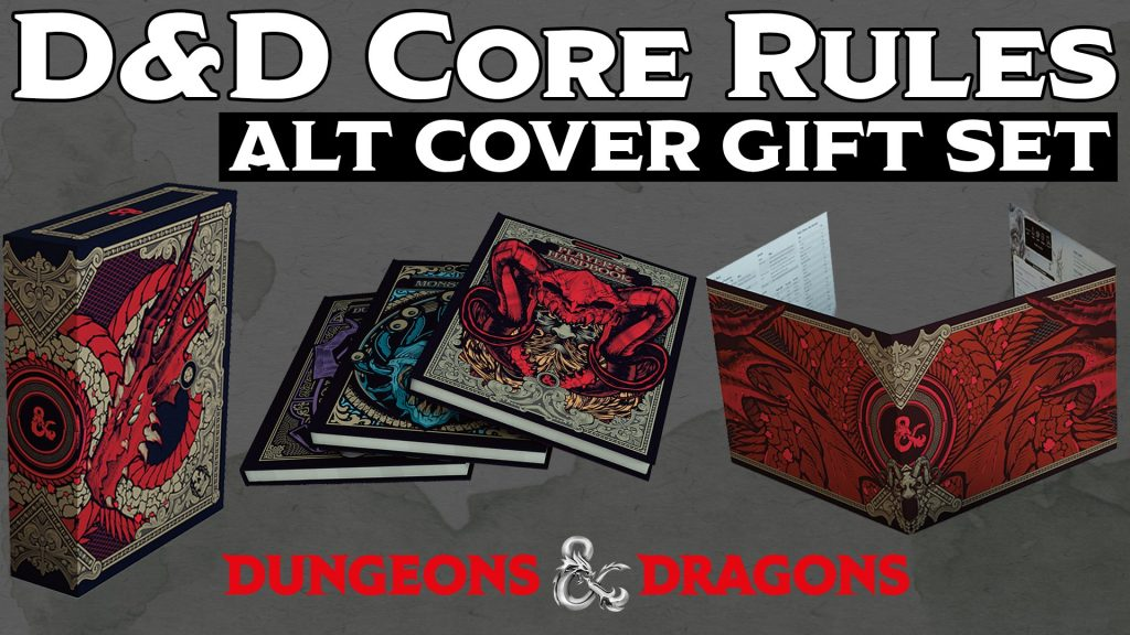 D&D Core Rules Alternate Covers - Dungeons & Dragons