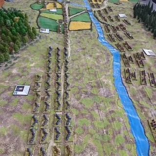 Battle of Horka 1708 - Per Broden & Wyre Forest Gamers