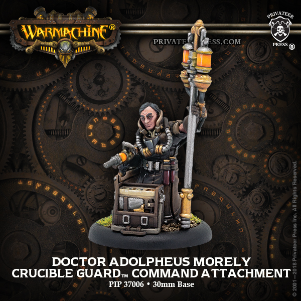 Doctor Adolpheus Morely - Warmachine