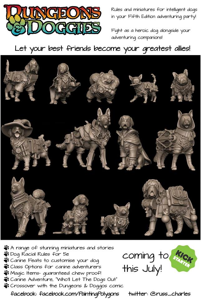 Dungeons & Doggies Heroes - PaintingPolygons