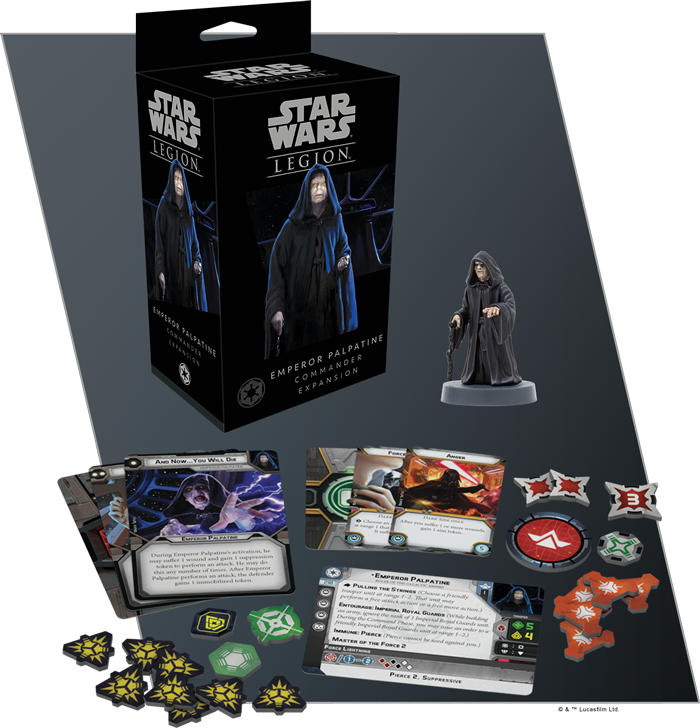 Emperor Palpatine Commander Expansion - Star Wars Legion