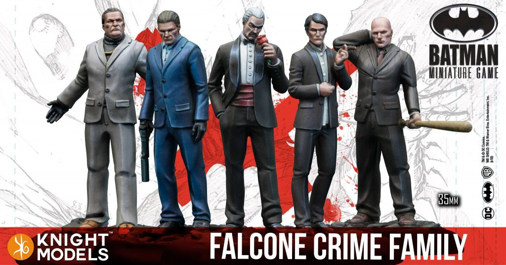 Falcone Crime Family - Knight Models
