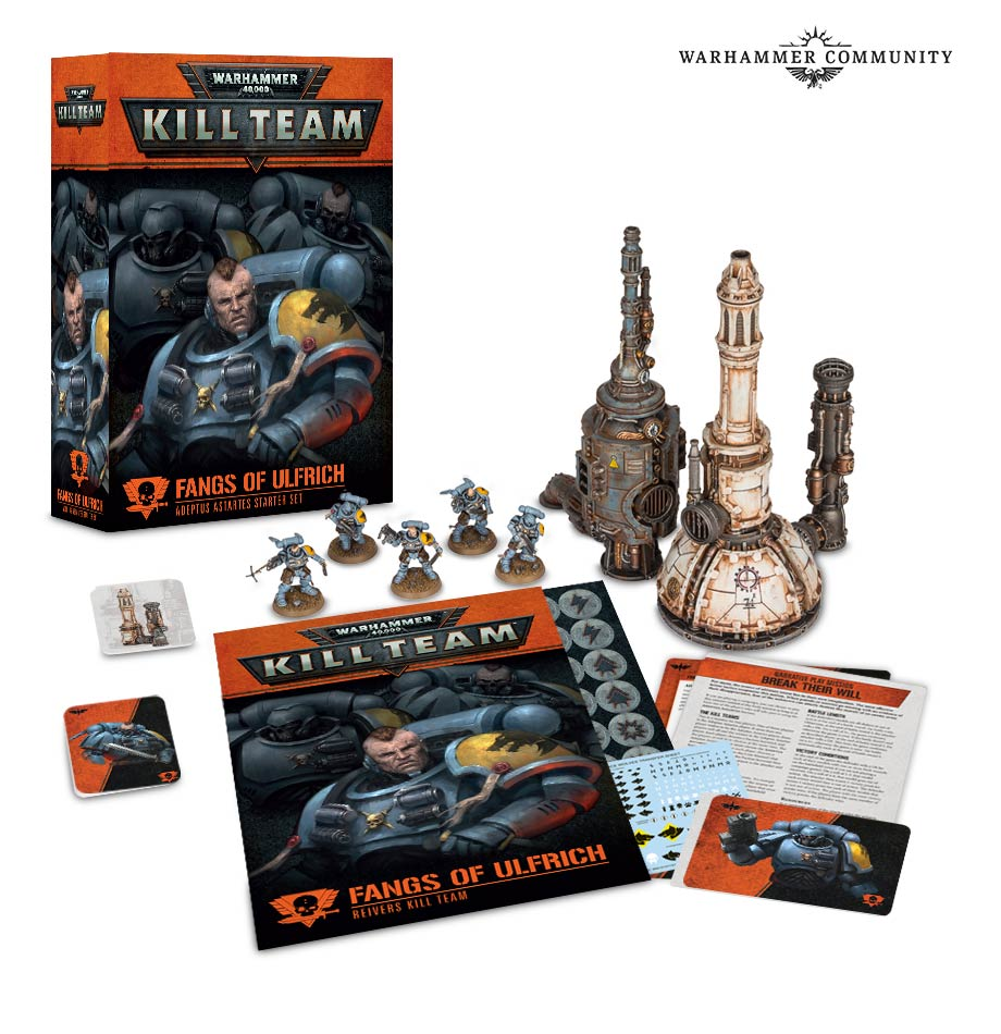 New Kill Team Game Detailed By Games Workshop
