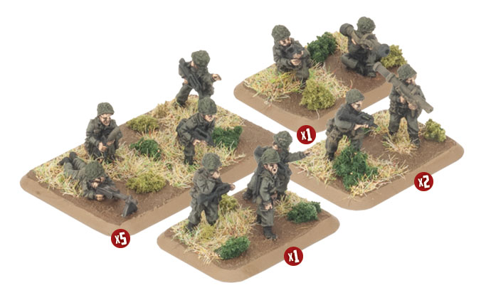 French Infantry Platoon - Team Yankee