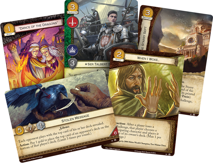Game Of Thrones LCG Alt Cards - FFG