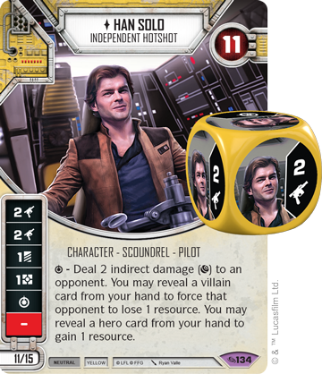 Han Solo - Star Wars Destiny