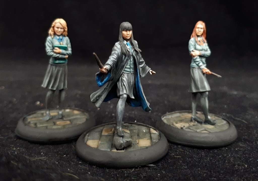 Harry Potter Miniatures #1 by volleyfireandy
