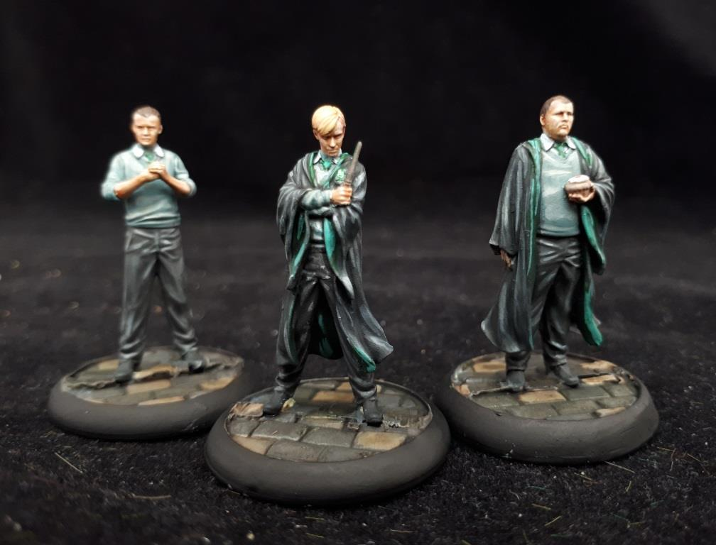 Harry Potter Miniatures #2 by volleyfireandy