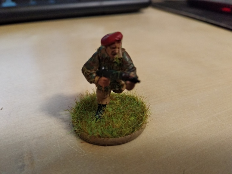 A model with the static grass applied.