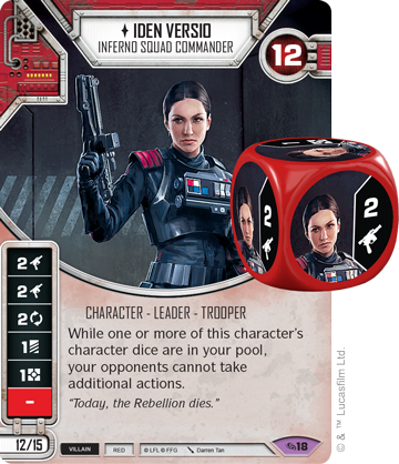 Iden Versio - Star Wars Destiny
