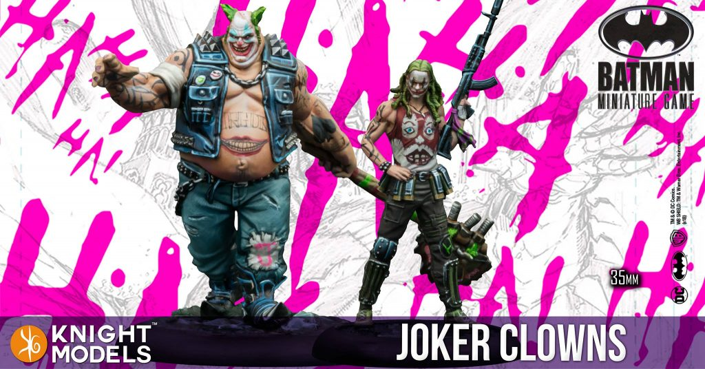 Joker Clowns - Knight Models
