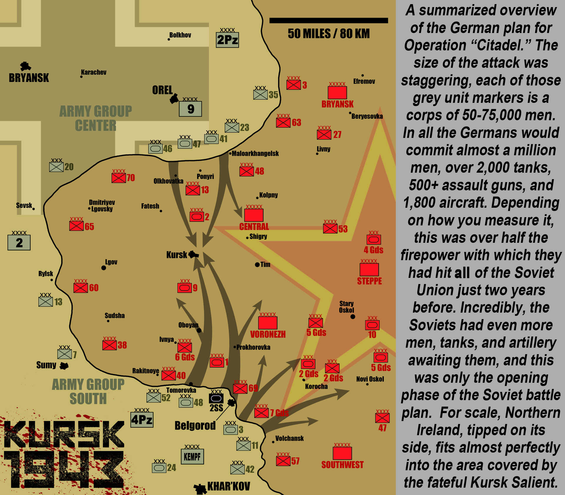 Wargaming Kursk Part One D